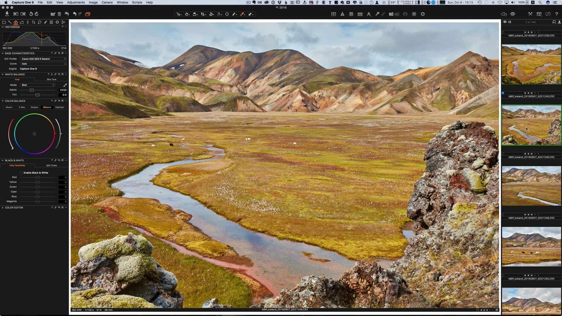 Capture One Video Screenshot