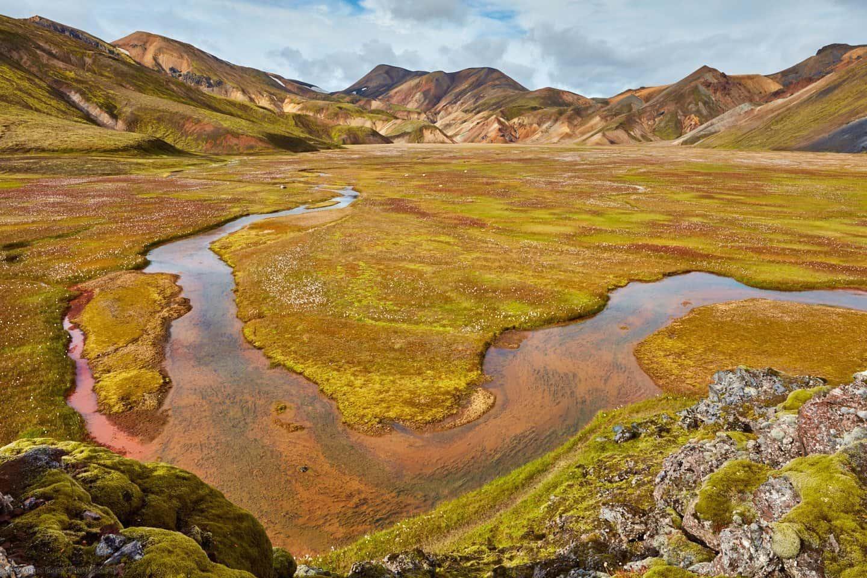Landmannalaugar Winding River