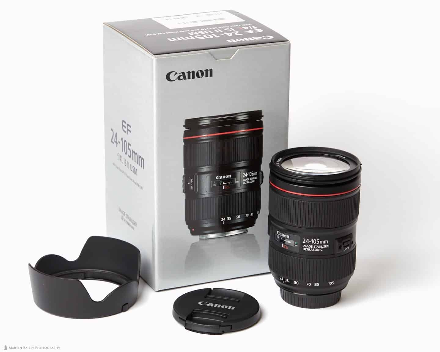 Canon EF24-105mm F4 IS II USM Lens