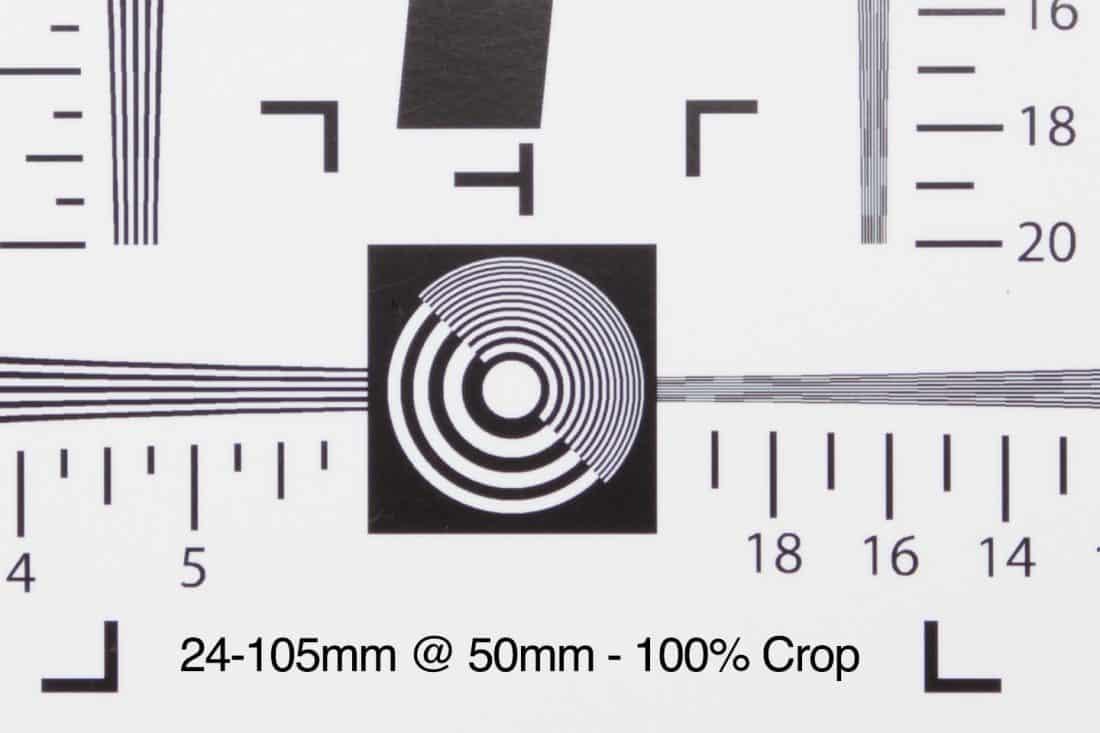 24-105mm @ 50mm - 100% Crop