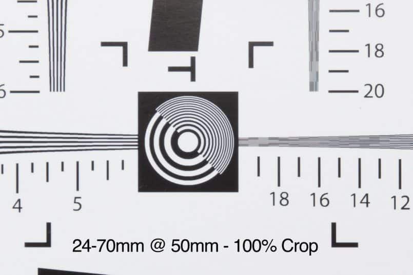 24-70mm @ 50mm - 100% Crop