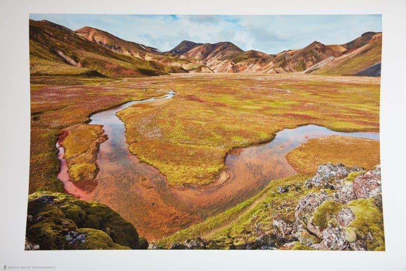 Iceland Photo on Signa Smooth