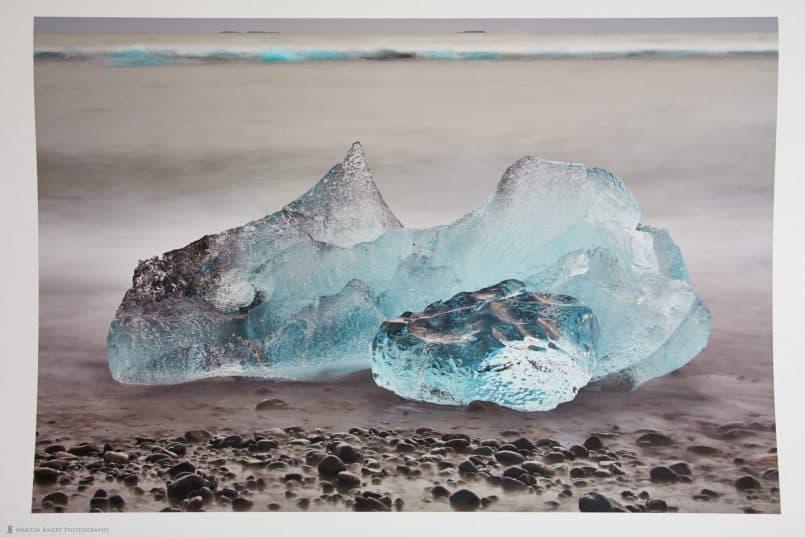 Sapphires on Beach Print on Signa Smooth