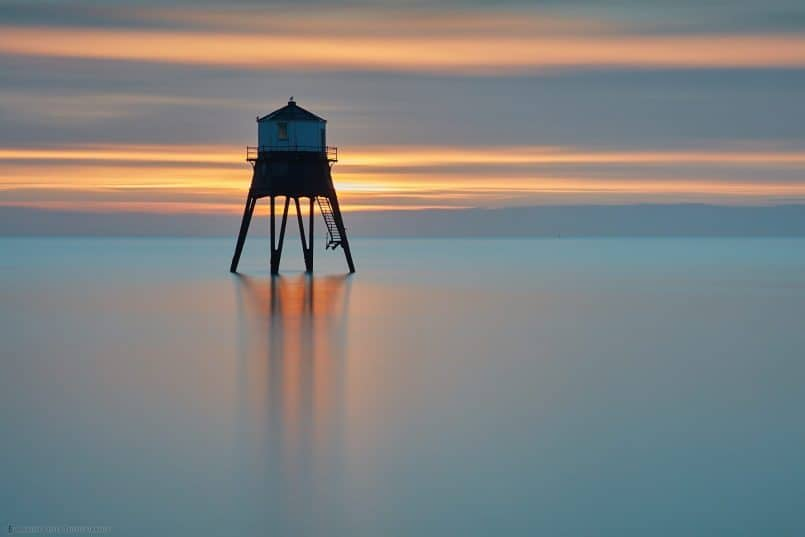 Dovercourt Low Lighthouse at Dawn
