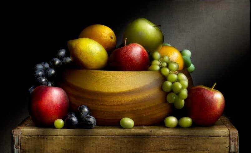 Bowl with Fruit © Curtis Hustace