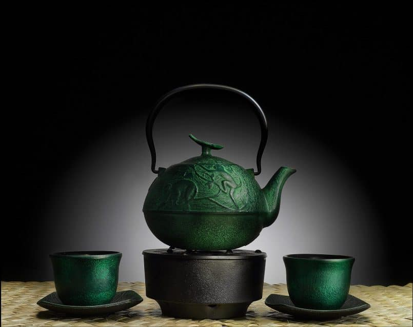 Teapot and Cups © Curtis Hustace