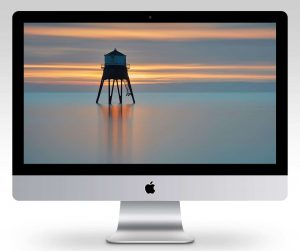 Dovercourt Lighthouse at Dawn Wallpaper