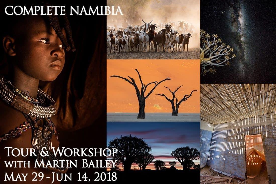 Complete Namibia Tour & Workshop 2018
