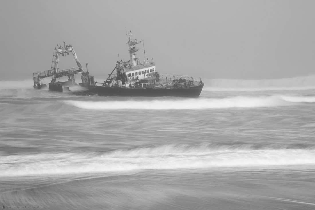 Zeila Shipwreck in Mist
