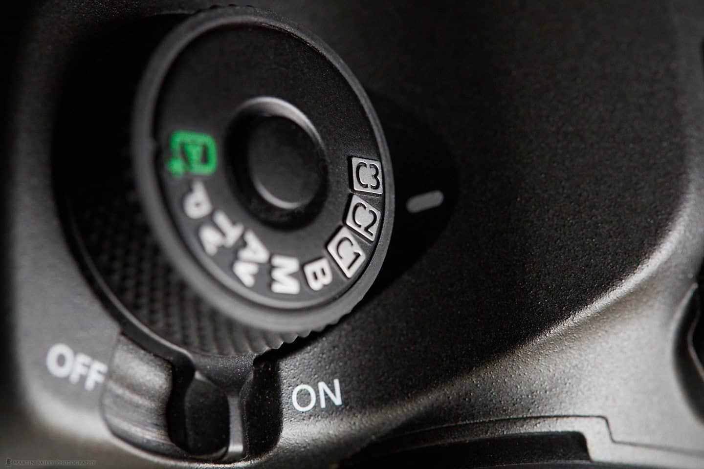 Canon EOS 5Ds R Mode Dial