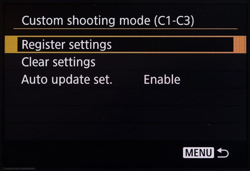 Canon EOS 5Ds R Custom Settings Auto Update