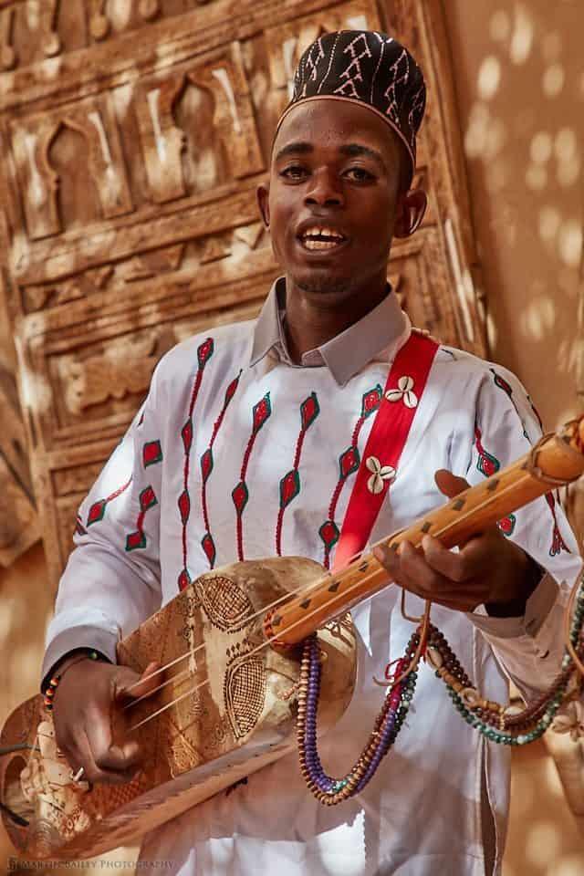Musician in Erfoud
