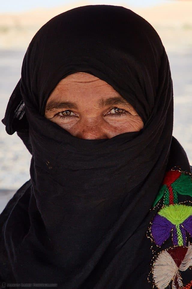 Sahara Nomadic Lady
