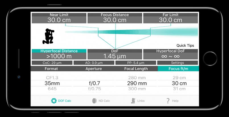 1.5 Micrometer Depth of Field