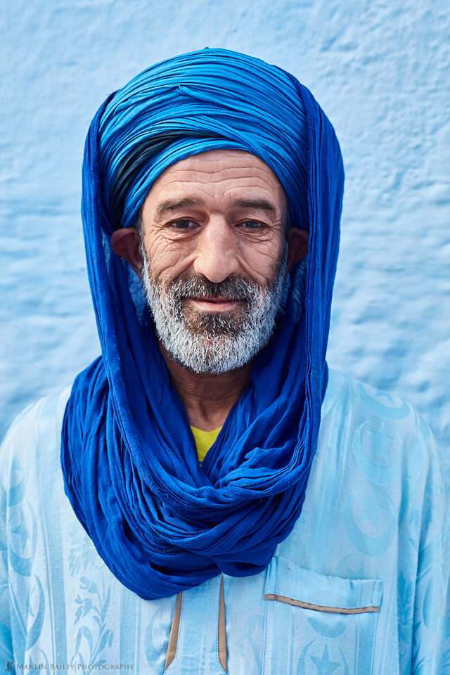 Man in Scarf/Turban