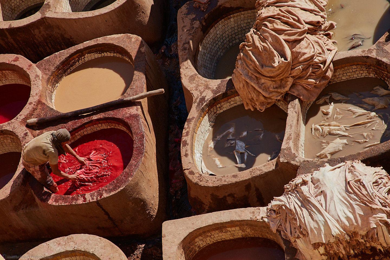 Pomegranate Tanning Dye