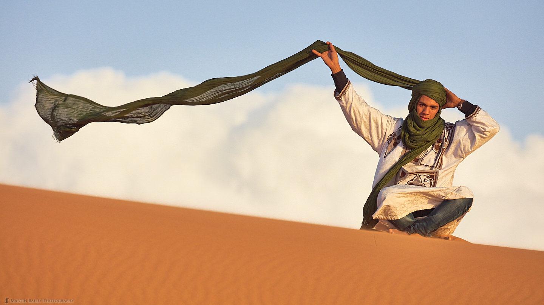 Turban in the Wind