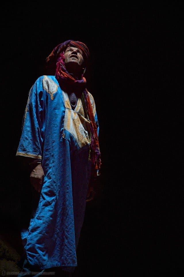 Moroccan Man (Karim) in Well