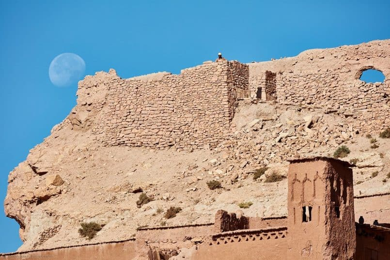 Moon Over Aït Benhaddou