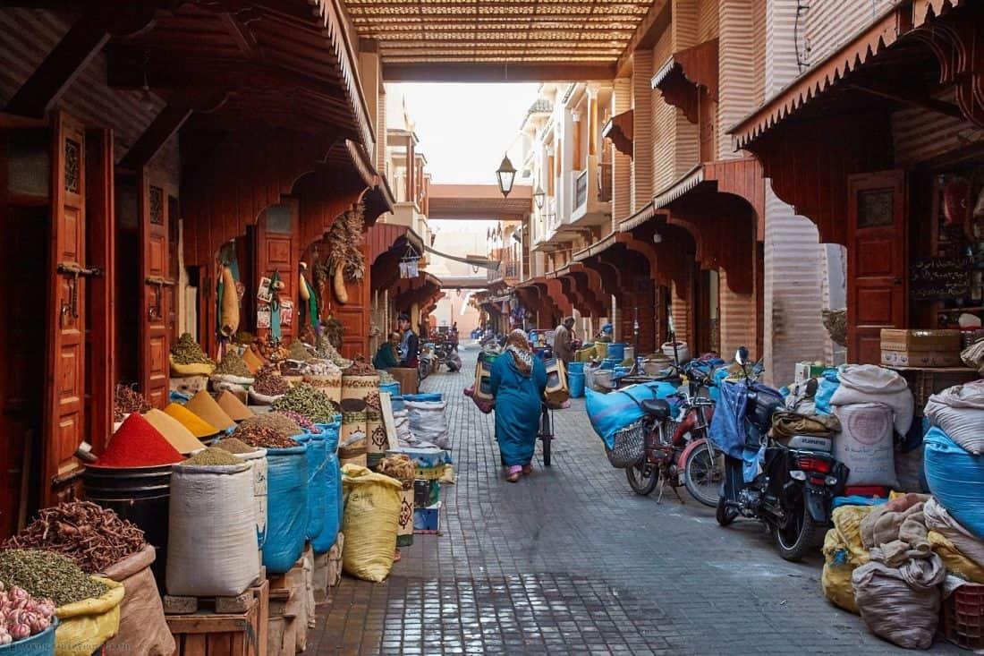 Marrakesh Market Street