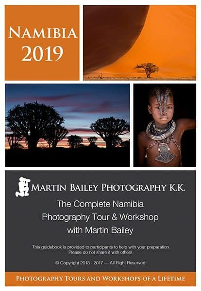 Namibia 2019 Guidebook Cover