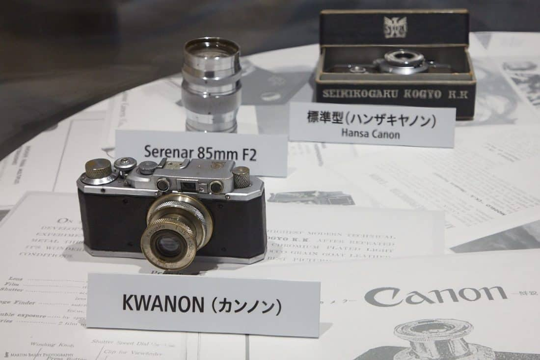 Canon's First KWANON Camera