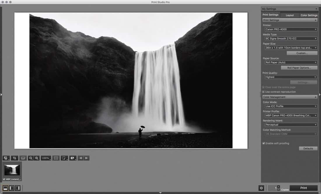 Canon Print Studio Pro