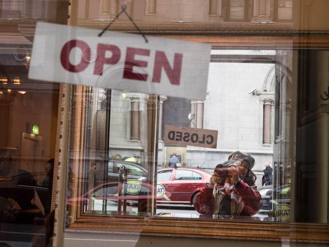 """Nancy Lehrer """"Open - Closed"""""""