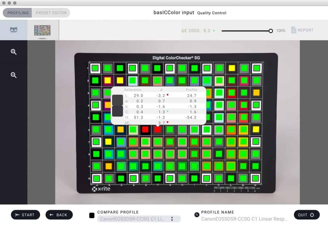 basICColor input 5 screenshot