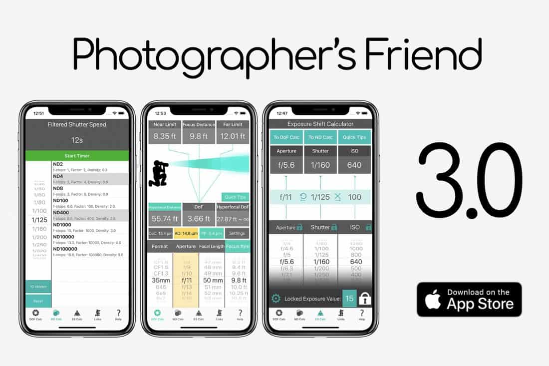 Photographer's Friend 3 for iOS