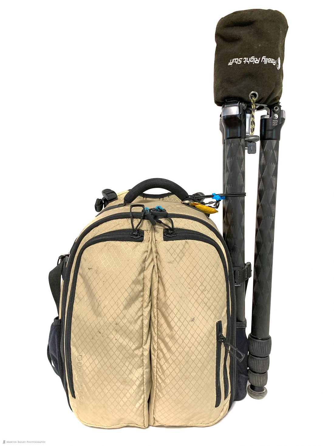 Martin's 18L Gura Gear Bataflae Camera Bag with RRS Tripod