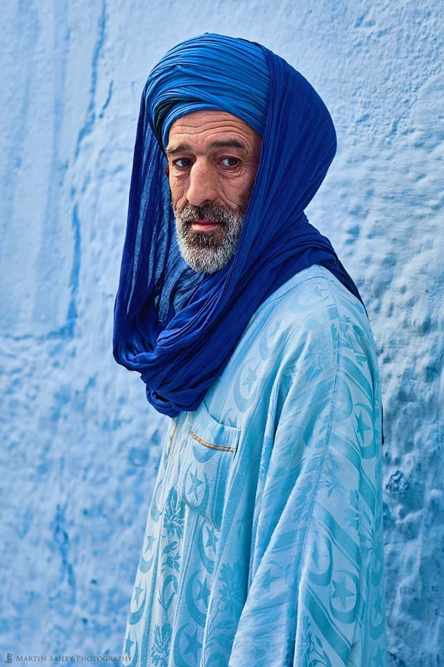 Moroccan Man in Chefchaouen