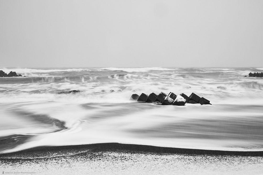 Icing Sugar Beach and Tetrapods