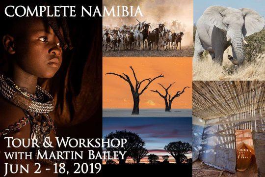 Complete Namibia Tour & Workshop 2019