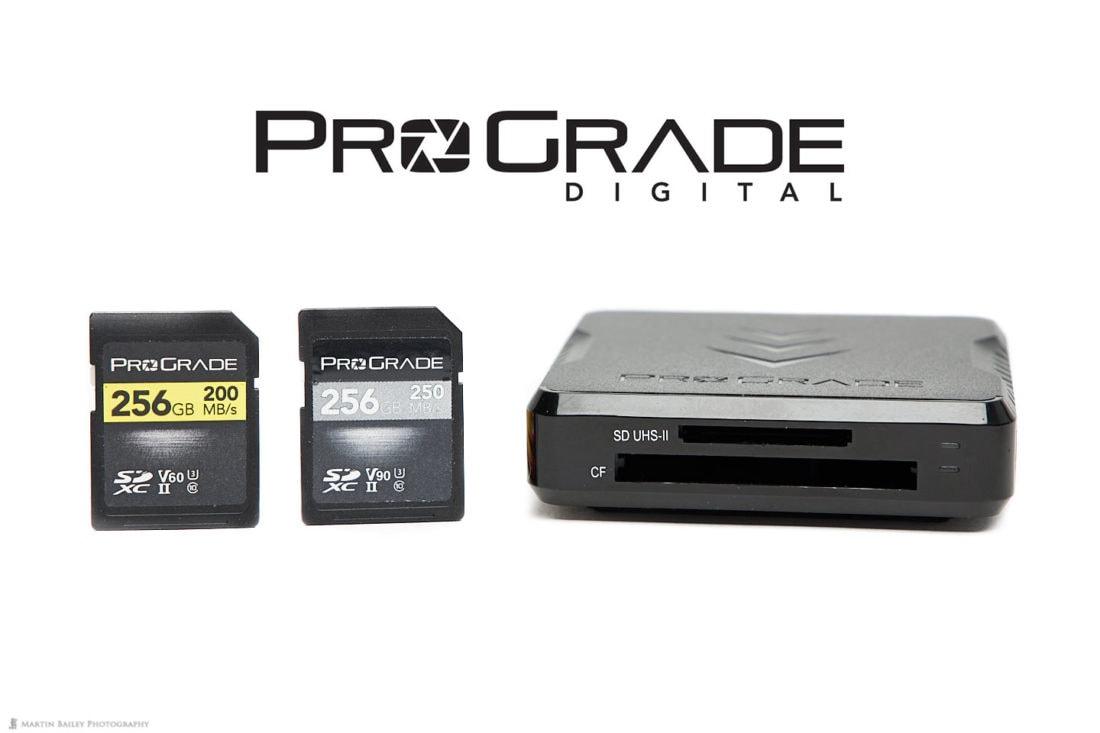 ProGrade Digital SDXC Cards and Workflow Reader