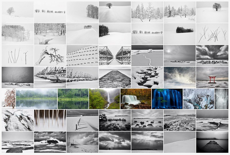 Landscapes of Japan Portfolio Thumbnails