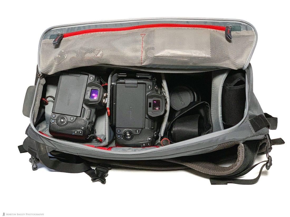 MindShift PhotoCross 15 Backpack Travel Mode