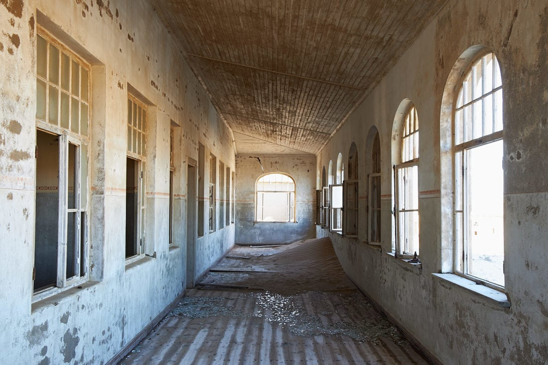 Kolmanskop School Corridor 2019