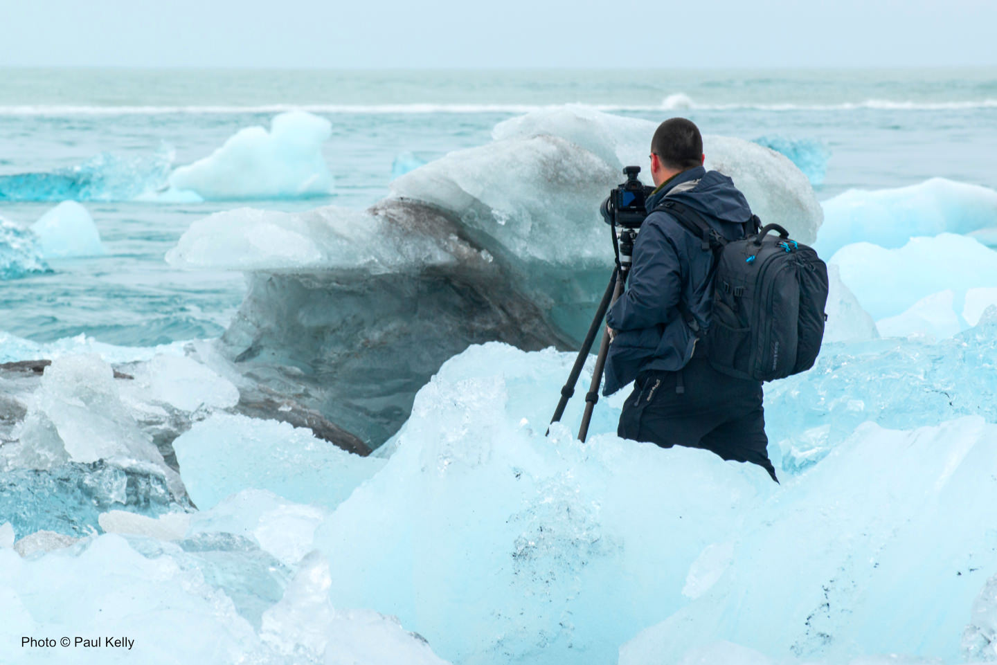 Martin in Iceland by Paul Kelly