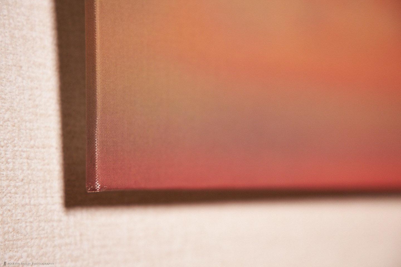 Belgian Linen Panel Corner