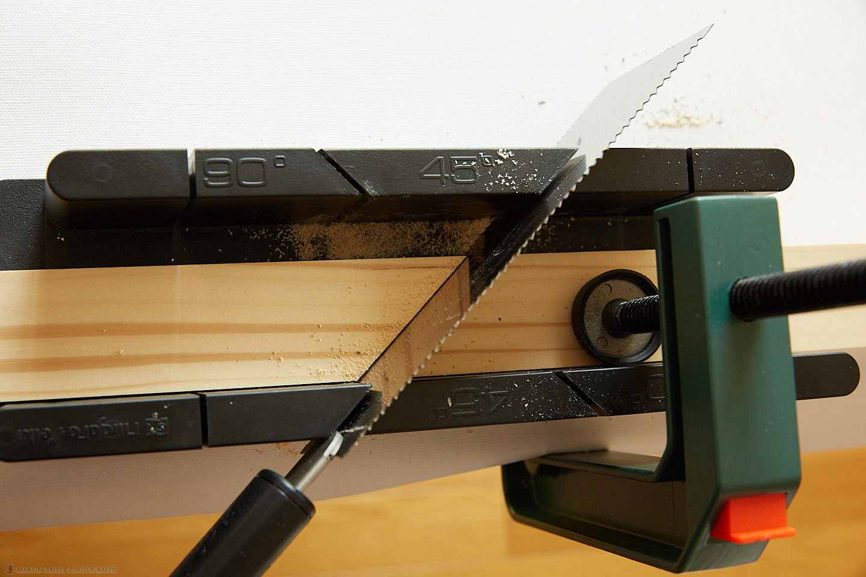 Cutting 45 Degree Corners