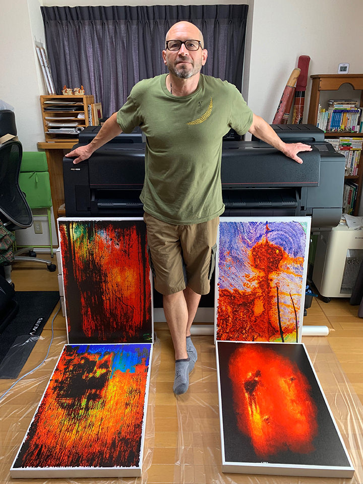 Jack with First Four Prints