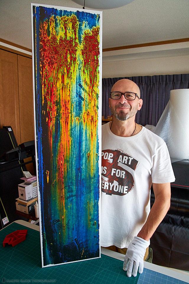 Jack Durner with Prints