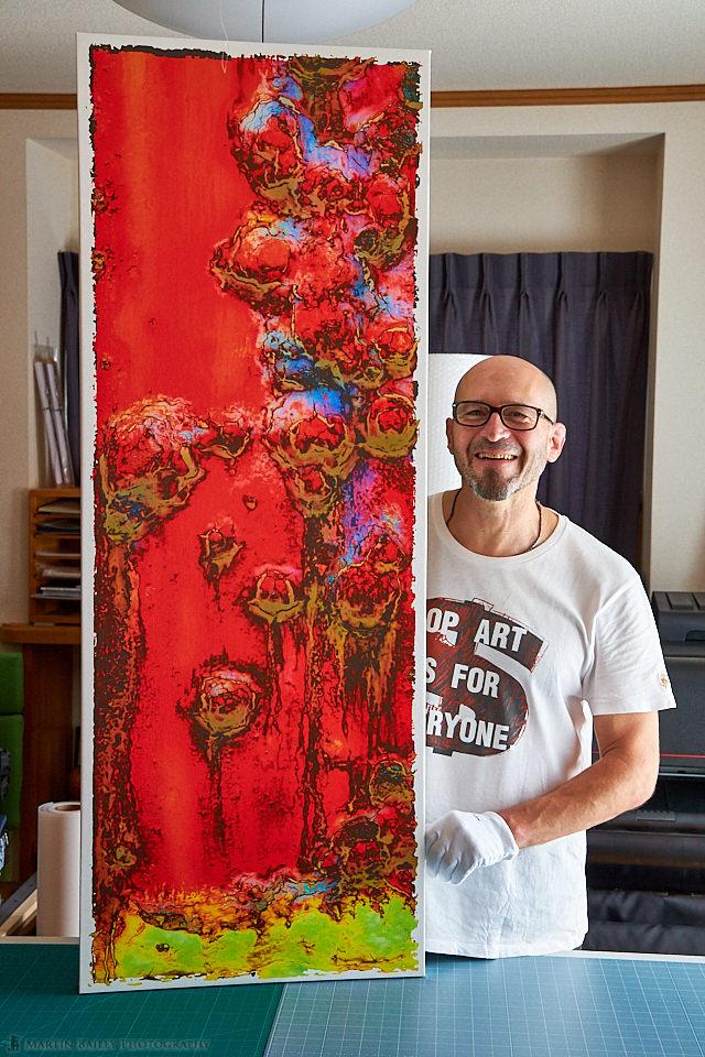 Jack Durner Smiling with Prints