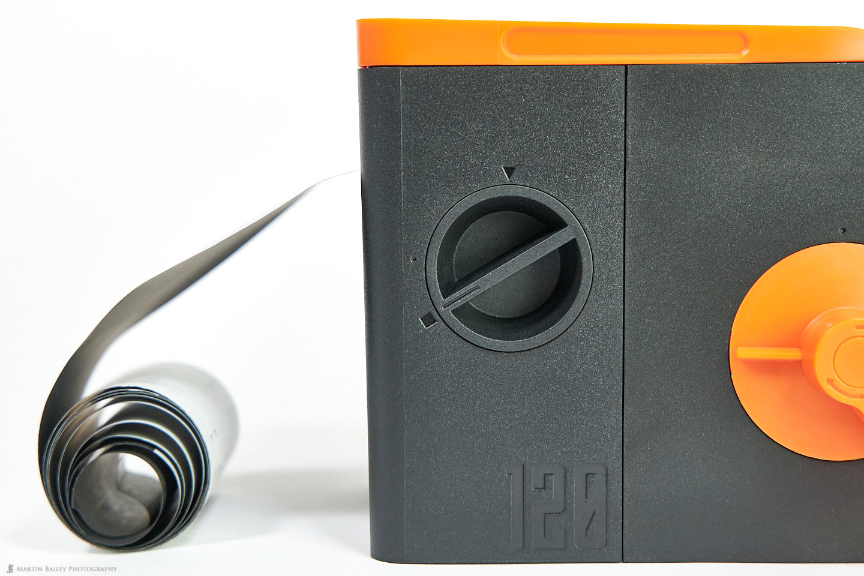 LAB-BOX Film Chamber Open