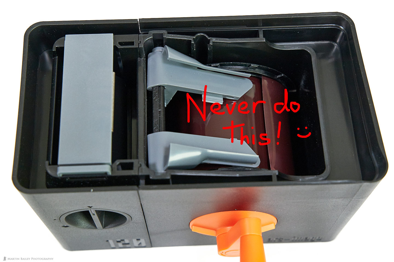 LAB-BOX Film Wound onto Spool