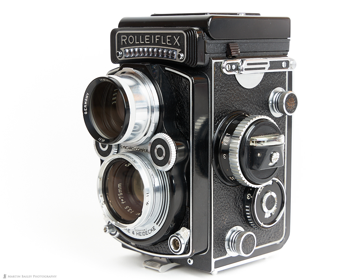 Rolleiflex 3.5F with Rolleinar 3 Close-up Filters