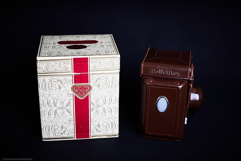 Rolleiflex 3.5F with Original Box