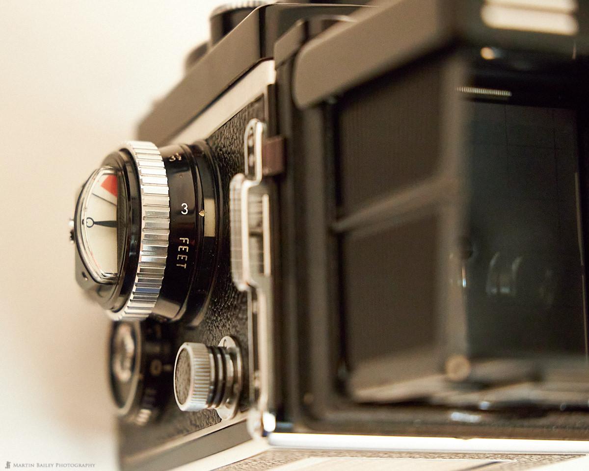 The Rolleiflex 3.5F Light Meter