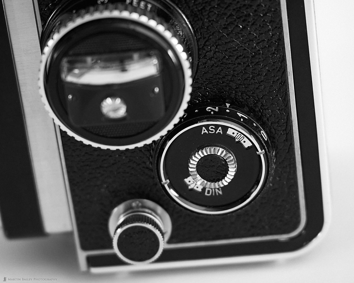 Rolleiflex 3.5F ISO Settings with Exposure Compensation